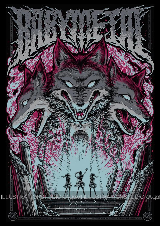 Babymetal T Shirt Art Collection Hd 28 Images Babymetal 壁紙