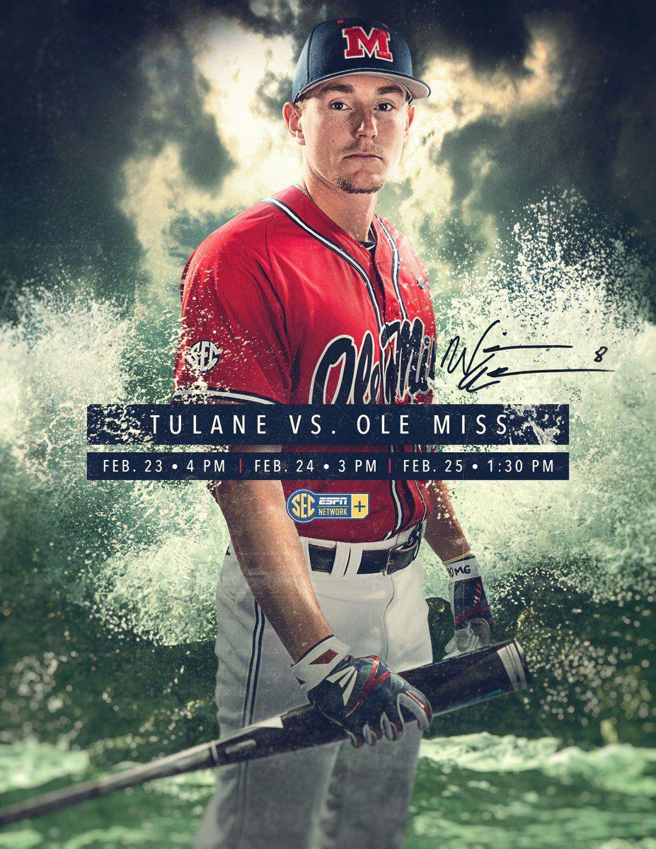 Ole Miss Sports design, Sport poster