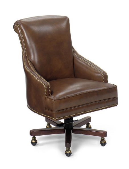 Paul Schatz Leather Desk Chair It S Made In America
