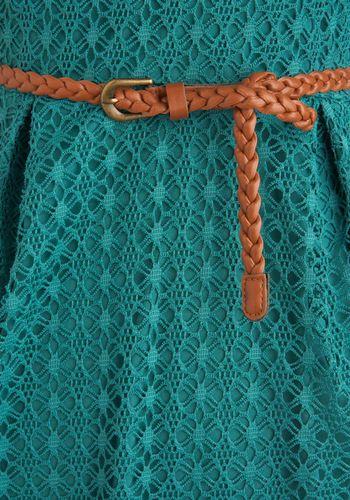 Teal Summer's End Dress, #ModCloth