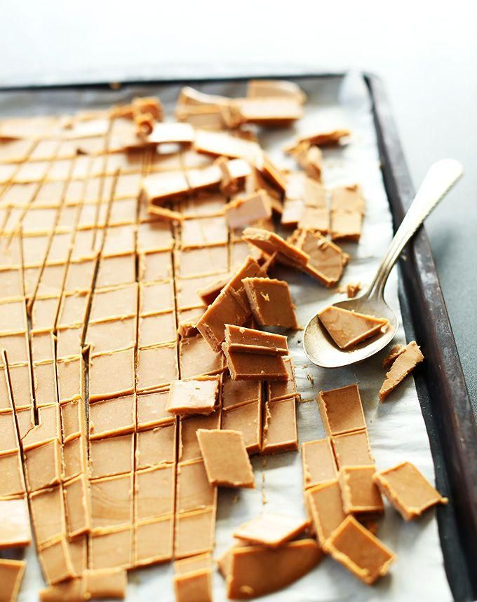homemade vegan peanut butter chips for baking | Minimalist Baker