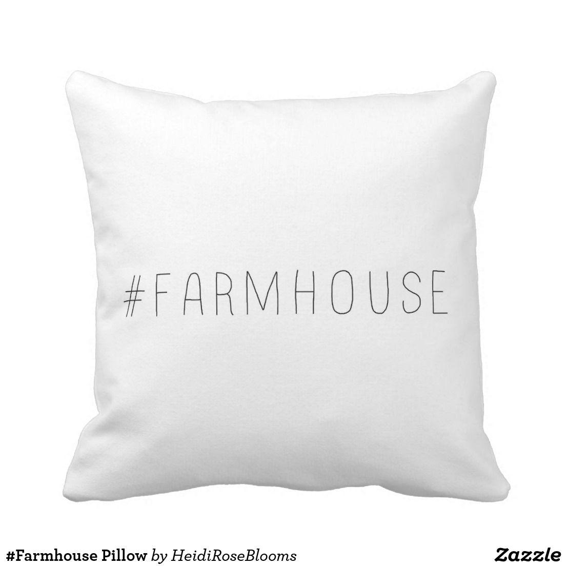 Farmhouse pillow glorious fall pinterest