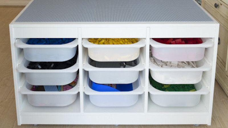 Build a Specialized LEGO Station for Ultimate Organization #legostorage