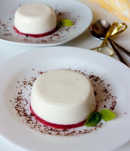 Панакота из йогурта - Пошаговый