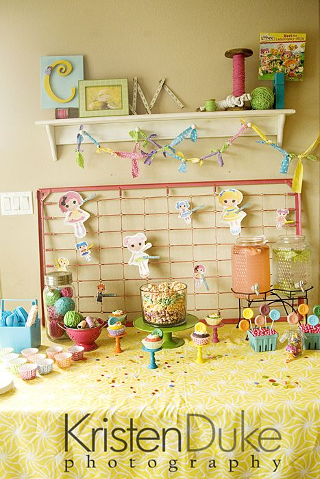 This LaLaLoopsy Party is ADORABLE!
