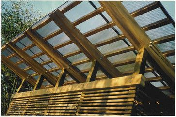 Canopies u0026 Porch Covers - Wood Framed Canopy with Polycarbonate Glazing & Canopies u0026 Porch Covers - Wood Framed Canopy with Polycarbonate ...