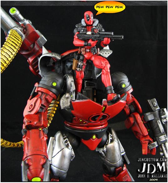 Deadpool Mecha Robot - Tìm với Google