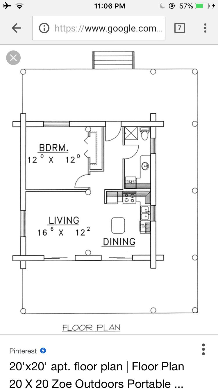 Pin By Jen Antila On Adu Above Garage Apartment 400sf Cabin Floor Plans Above Garage Apartment Floor Plans