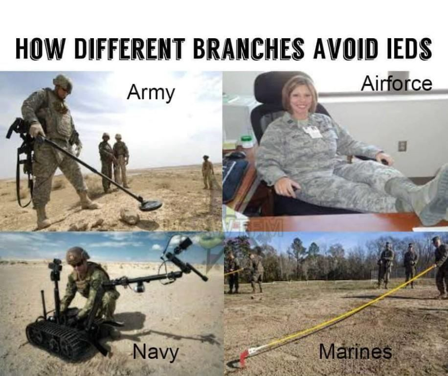 The 13 Funniest Military Memes Of The Week We Are The Mighty Military Humor Military Jokes Military Memes