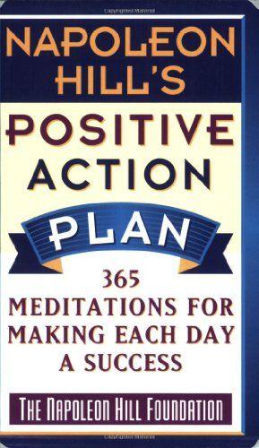 Bestseller Books Online Napoleon Hillu0027s Positive Action Plan 365 - action plan