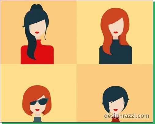 Logo Ideas Avatar Business Cards Feminine Visit Carte De Visite