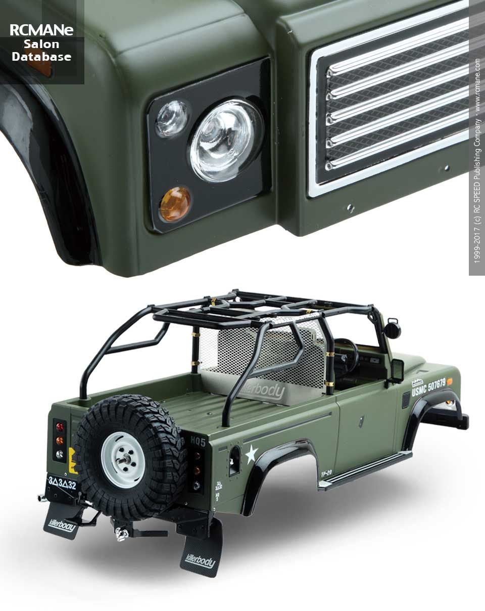 Sa098 Killerbody Marauder 1 10 Crawler Car Off Road 48419 Lengthening Trailer Page 2 Pirate4x4com 4x4 And Offroad Finished