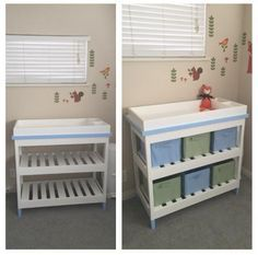 Baby changing table do it yourself home projects from ana white baby changing table do it yourself home projects from ana white solutioingenieria Images