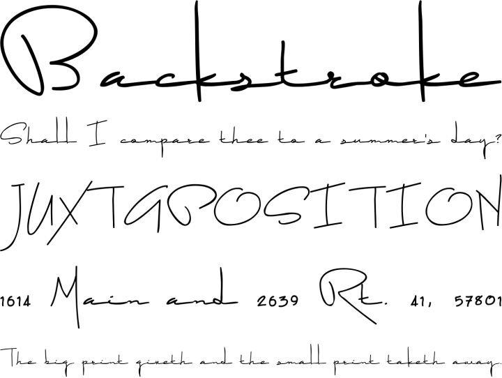 After Dark Alphabet Phrases