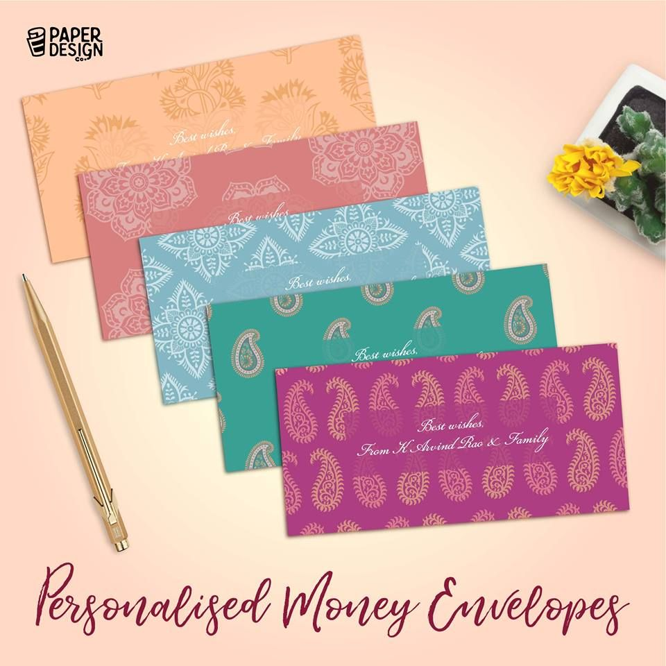 Our Personalised Money Envelopes Are Larger Than Regular Size And Make A Statement Giftenvelopes We Personalized Stationery Money Envelopes Envelope Design