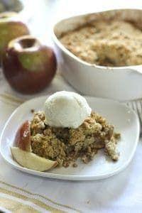 Fresh and Light Apple Crisp Recipe Dessert recipes
