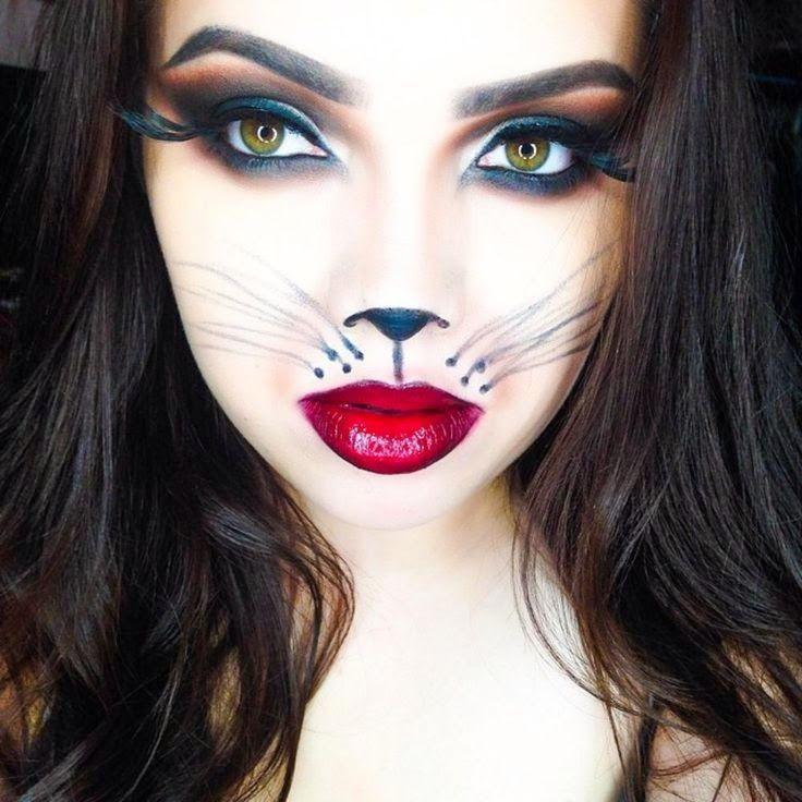 maquillaje de gata Buscar con Google Maquillaje Pinterest