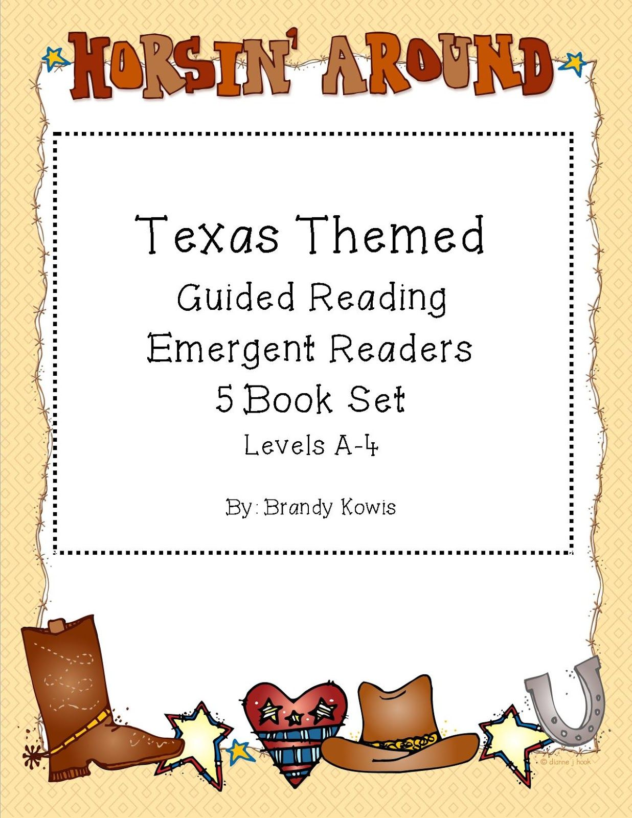 Texas Themed Guide Readers Level A 4