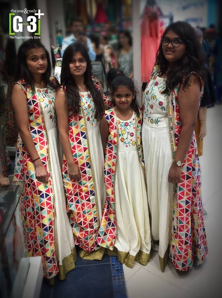 Indian gowns for girls, happy customers in g3fashion outfits, Indian ...