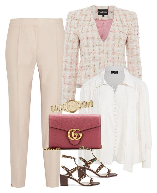 Untitled #2705 by erinforde on Polyvore featuring Nico, STELLA McCARTNEY, Valentino, Gucci and Burberry