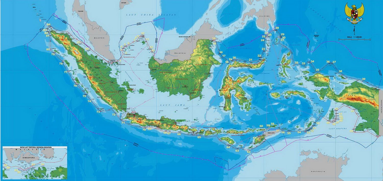 Peta Indonesia Lengkap Peta Wallpaper Android Peta Dunia