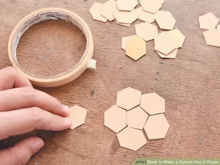 How To Make A Sphere Out Of Paper Cardboard Paper Craft Cardboard Sculpture Cardboard Design