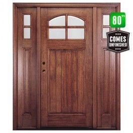 Htc 400 W Sidelites Front Entry Door Exterior Front Entry Doors Craftsman Front Doors Craftsman Exterior Door