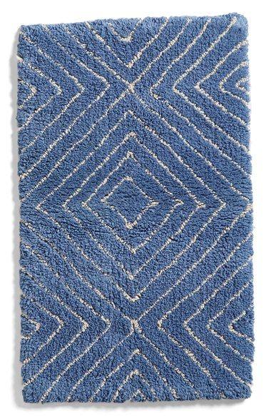 Am Home Textiles Diamond Bath Rug