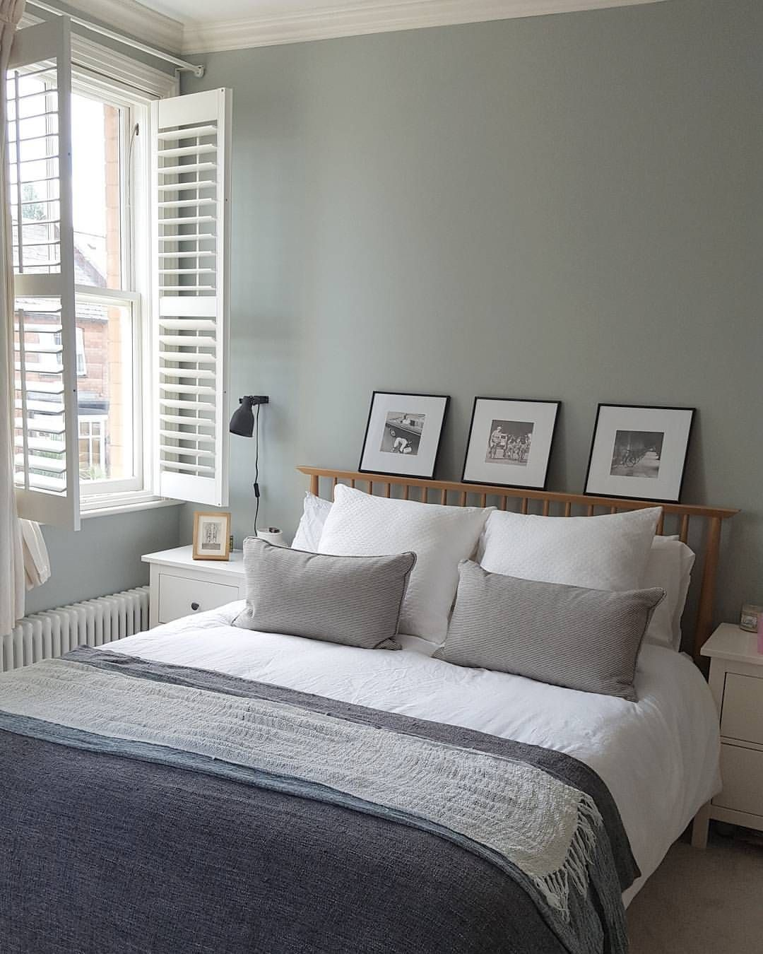Light Blue by Farrow and Ball   Blue green rooms, Small ...