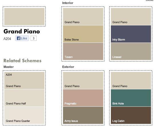 Dulux Grand Piano MatchesDulux Grand Piano Matches   House Build   Walls   Pinterest  . Dulux Exterior Paint Selection. Home Design Ideas