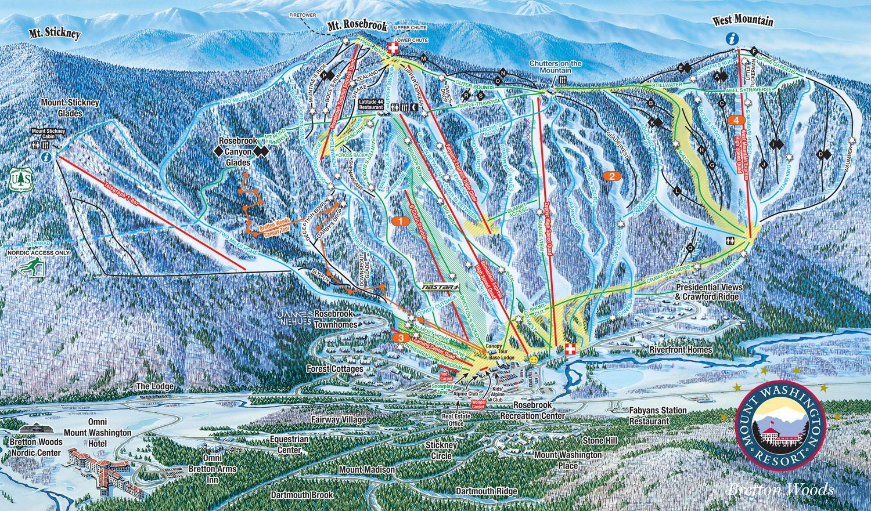 bretton woods - nh's largest ski area! alpine & nordic skiing