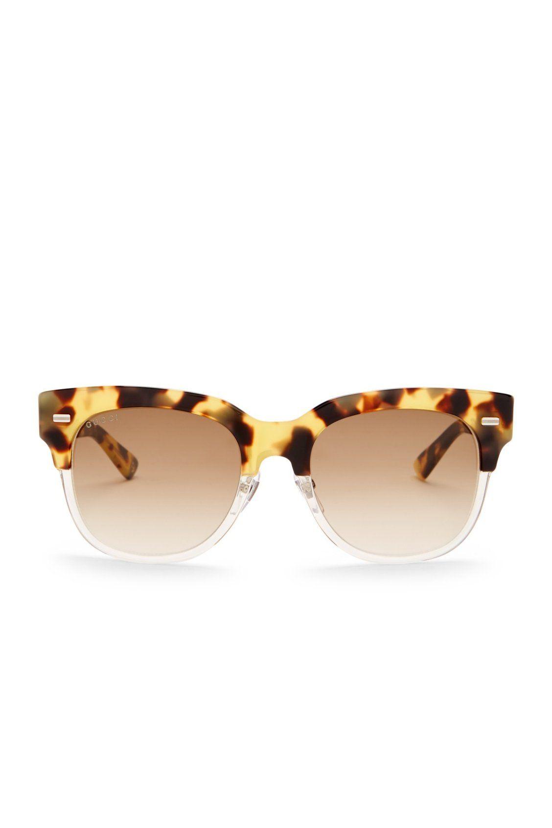 GUCCI Women\'s Clubmaster Acetate Frame Sunglasses   Surf, Sun, Sand ...