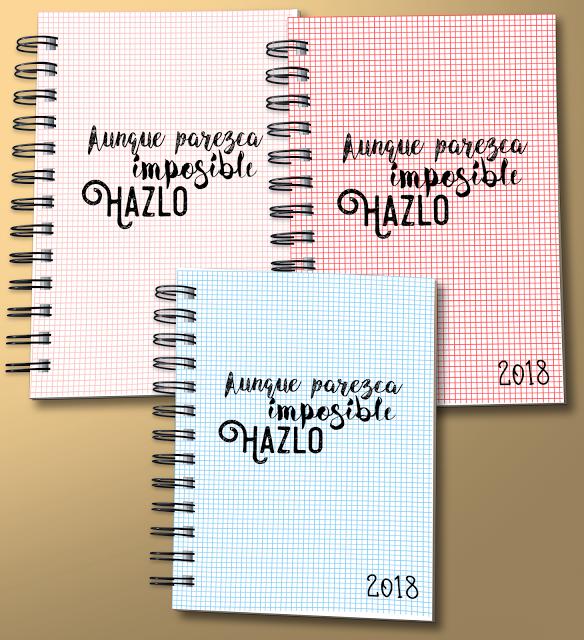 Agenda 2018 en a5 y a4 imprimible y editable bullet - Agenda imprimible 2017 ...