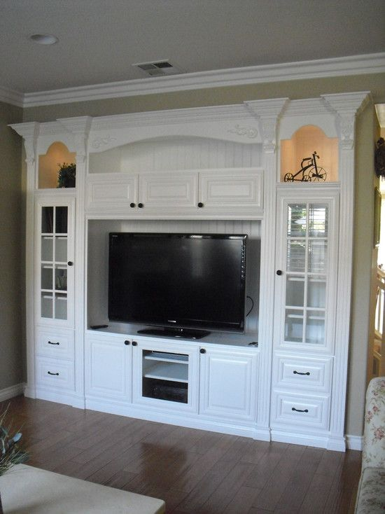 Built In Home Entertainment Center Design Pictures Remodel - Built in cabinets entertainment center design pictures remodel