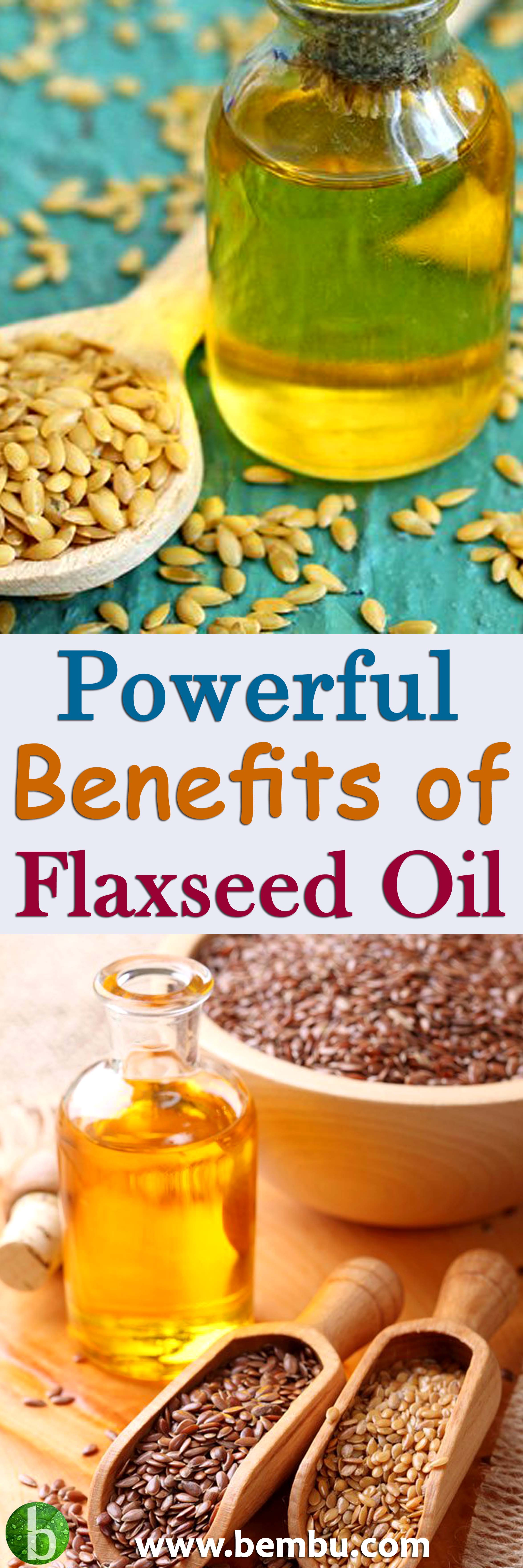 6 Powerful Benefits of Flaxseed Oil (With images ...