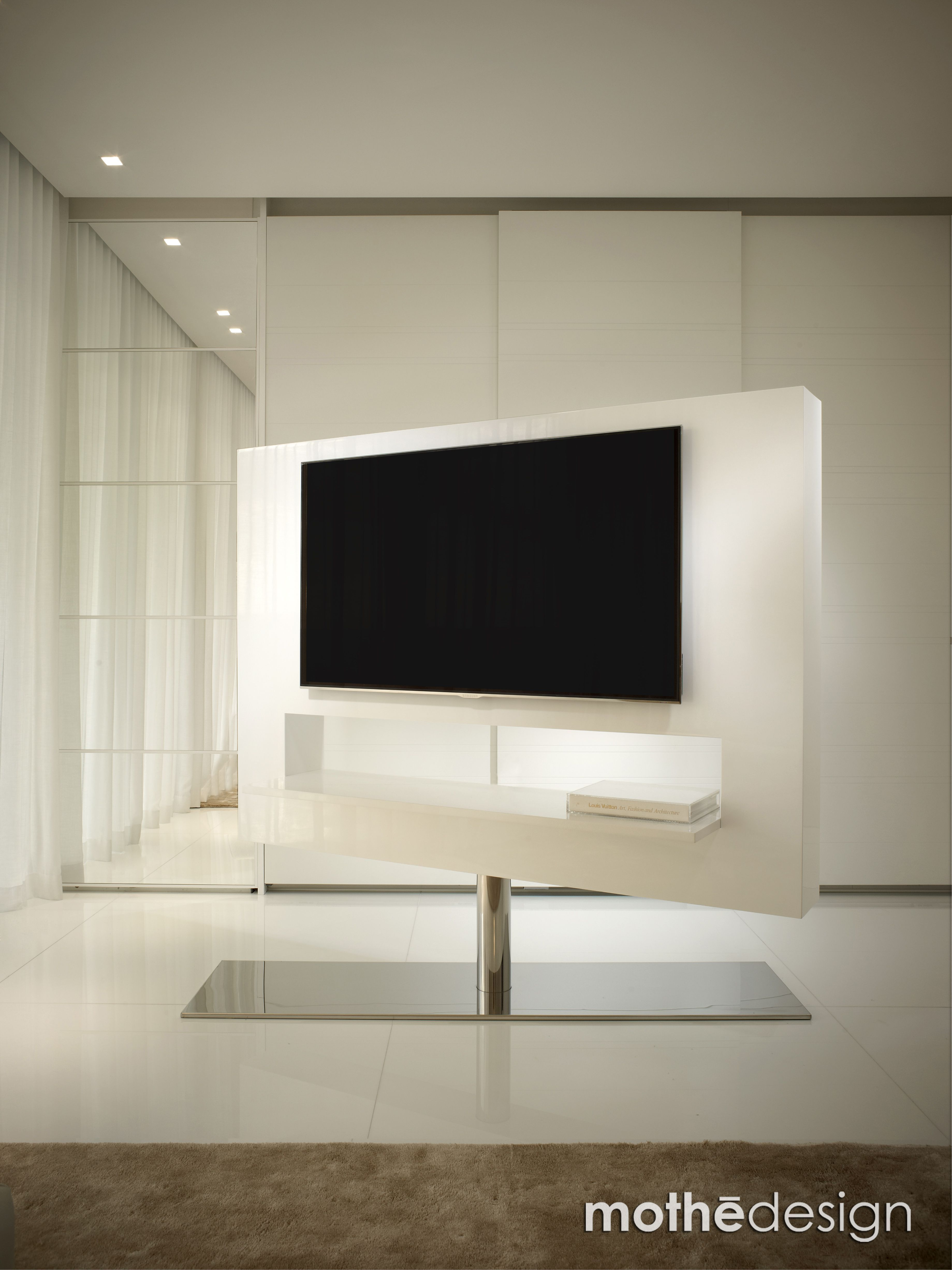 Fernseher freistehend #wandgestaltung Fernseher  Tv möbel
