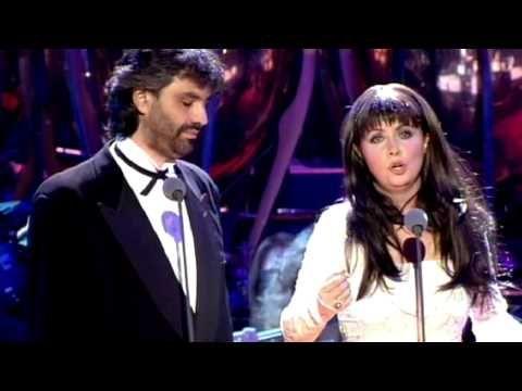 Sarah Brightman Andrea Bocelli 1997 Por Ti Volare Youtube