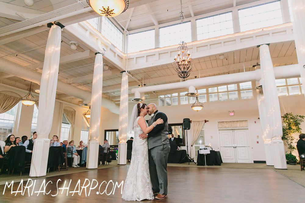 Beautiful Wedding Reception At The Great Room At Historic Savage Mill First Dance As Husband Wife With Images Beautiful Wedding Reception Great Rooms Maryland Wedding