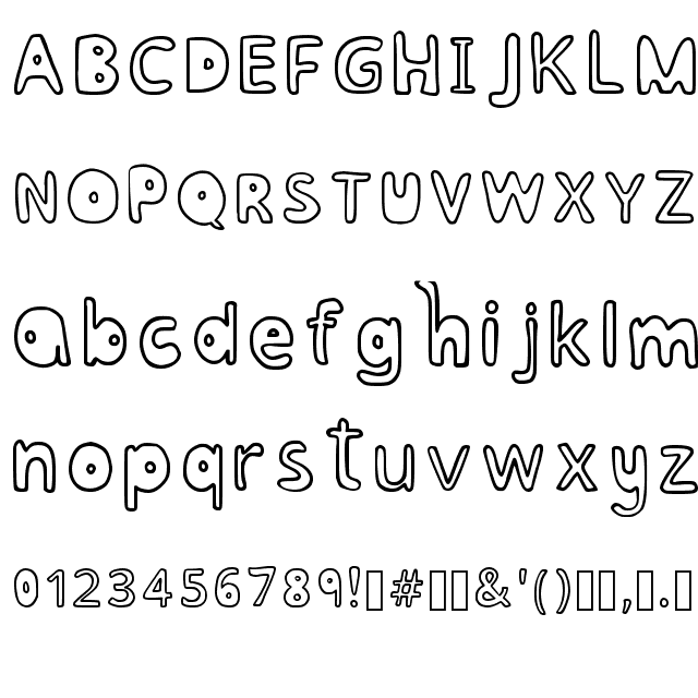 BUBBLESFONT REGULAR FONT