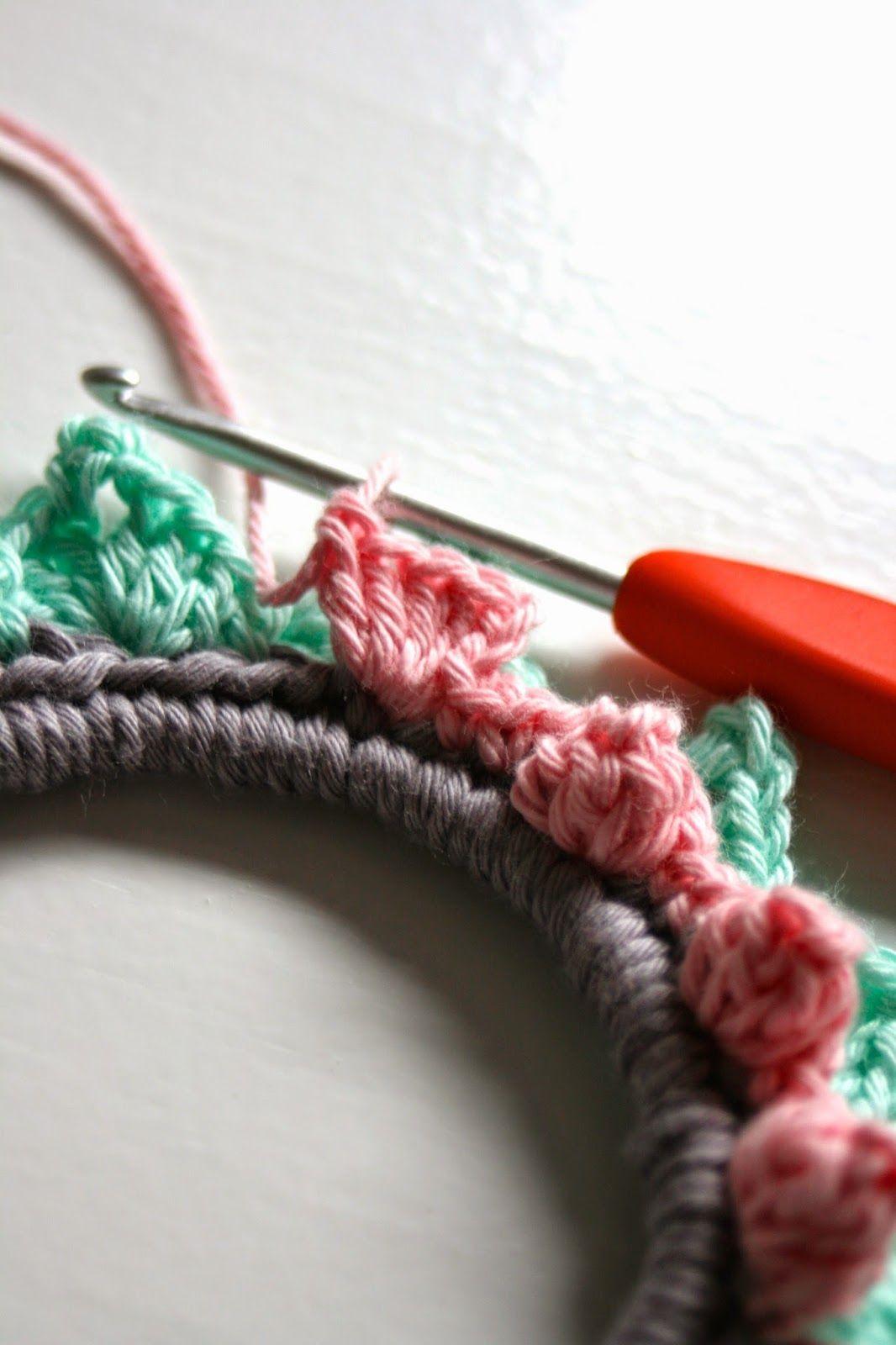 Haken Bij Saar En Mien 101 Woonideeën Fotolijstje Embroidery Hoop