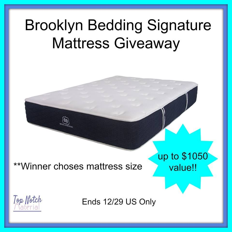 Win Brooklyn Bedding Signature Mattress Up To 1050 Us Ends 12 29 Brooklyn Bedding Mattress Bed