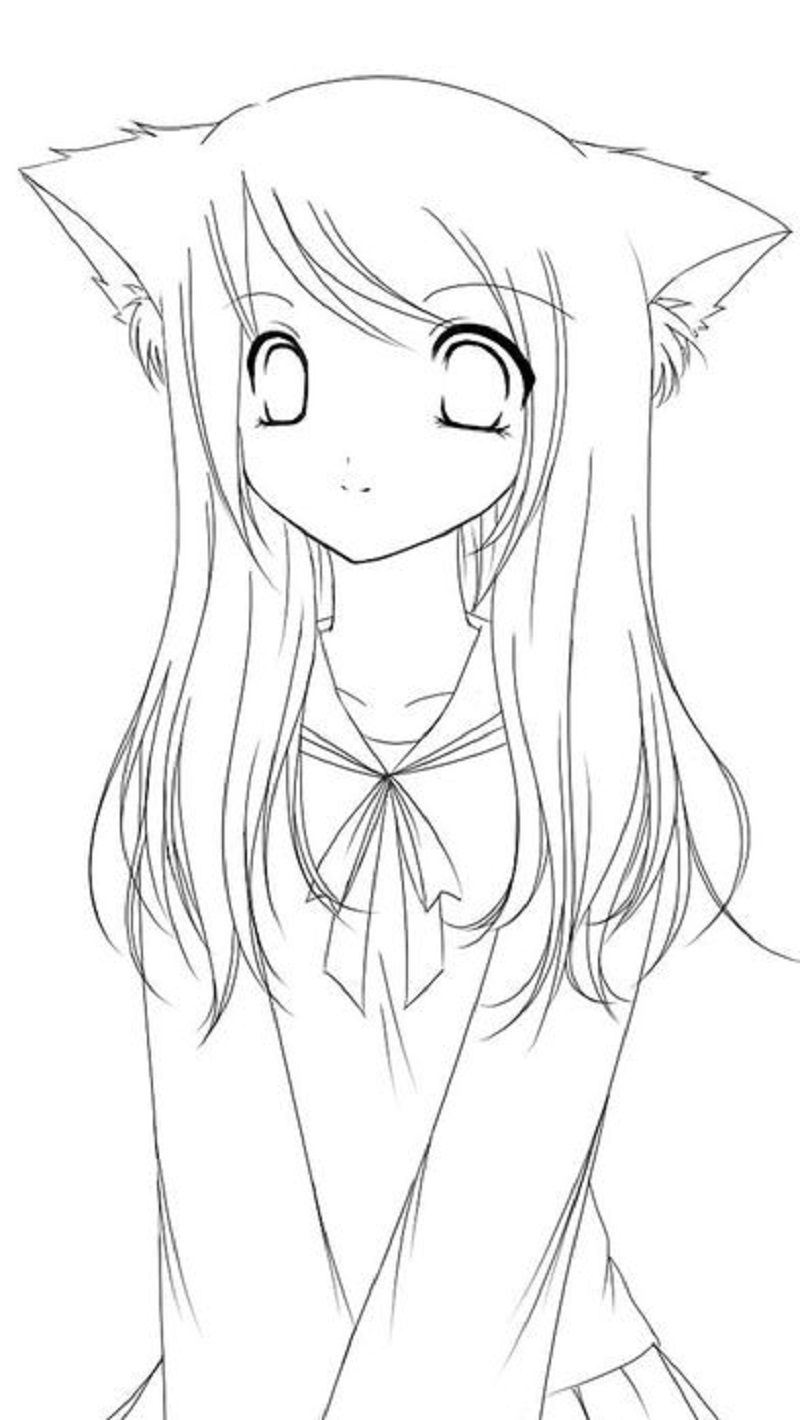 Aphmau Coloring Pages Educative Printable Coloring Pages Anime Art [ 1420 x 800 Pixel ]