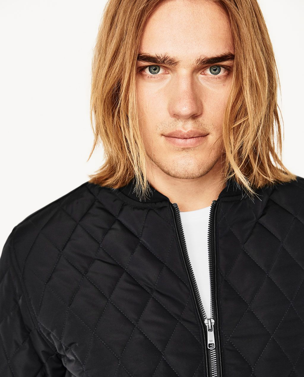 QUILTED BOMBER JACKETBOMBERSMAN ZARA Indonesia (With