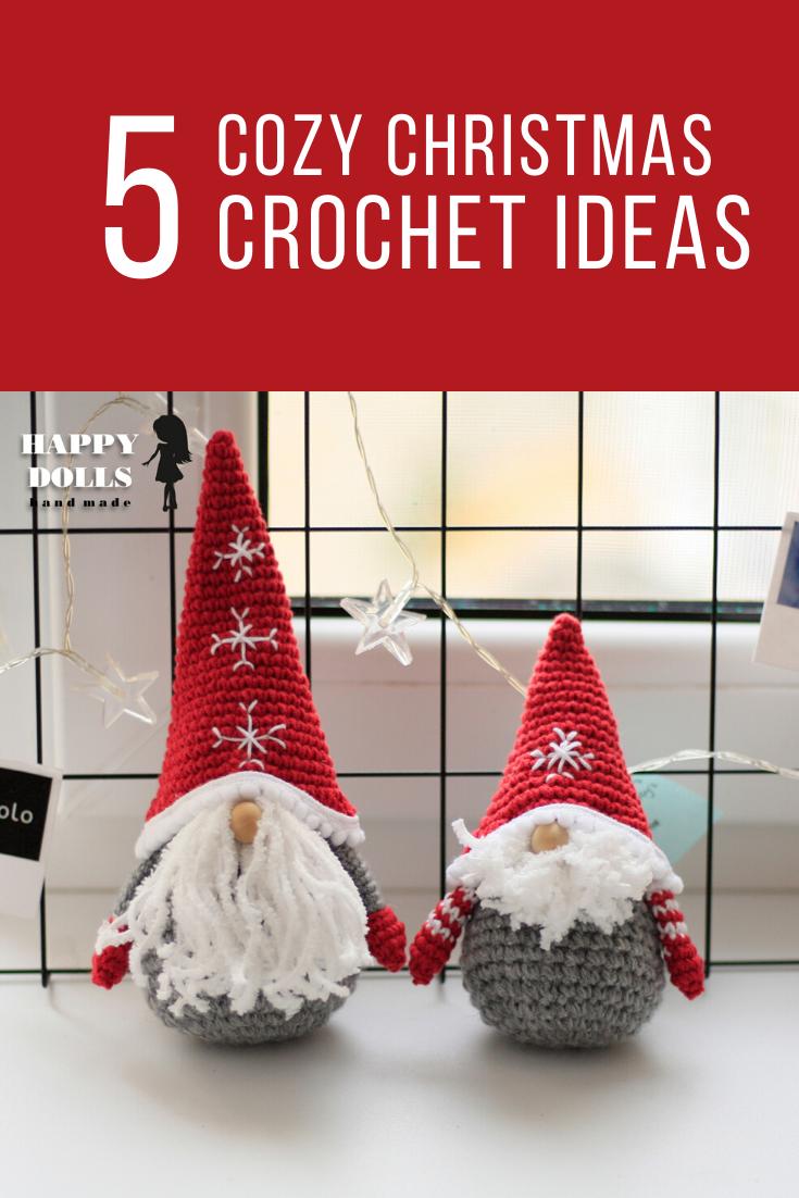 CROCHET PATTERN GNOME Amigurumi toy christmas