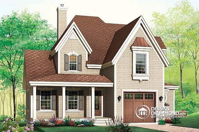 Plan de maison no W2667 de dessinsdrummond Floorplans