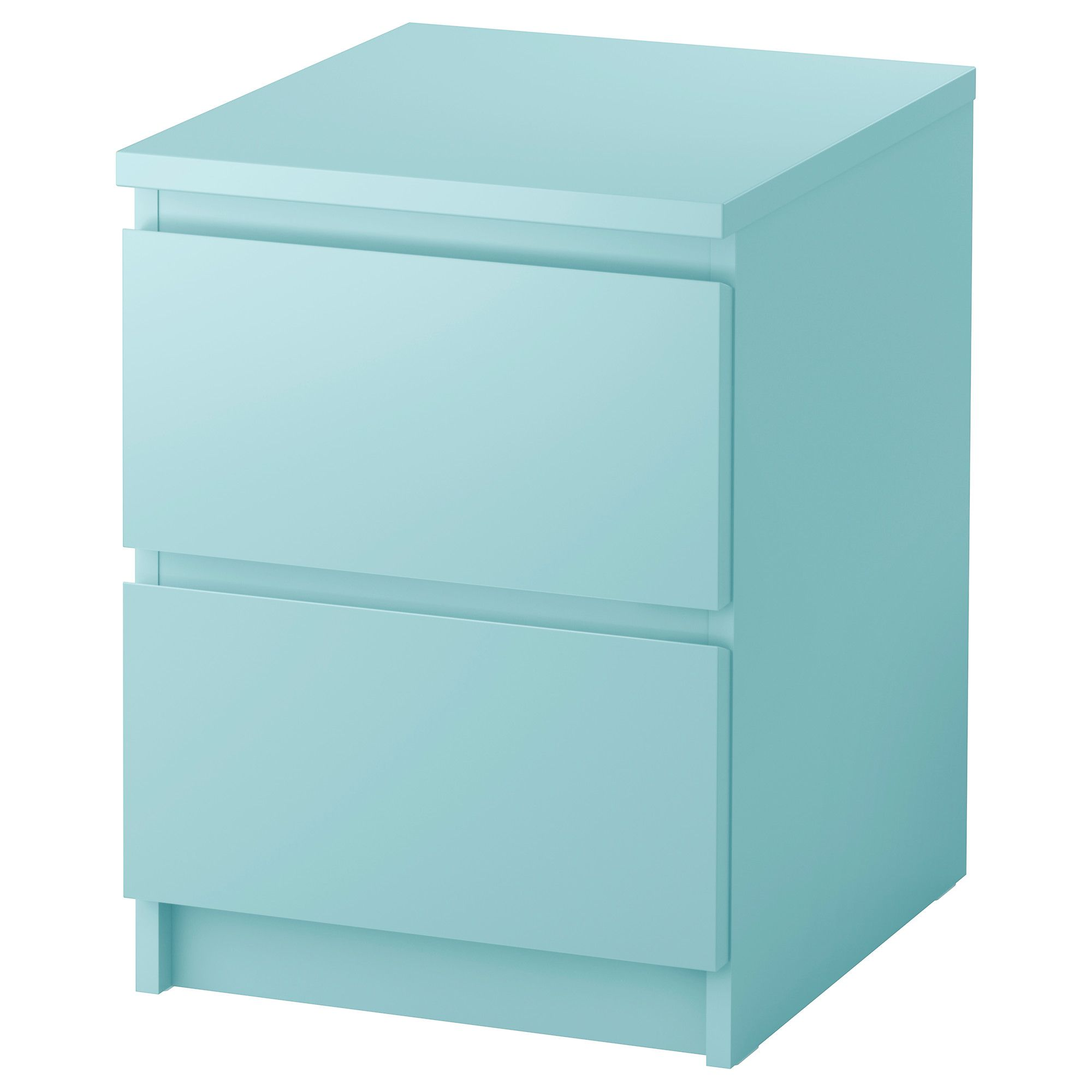 Malm Ablagetisch Ikea Malm Chest Of 2 Drawers Can Also Be Used As A Bedside Table