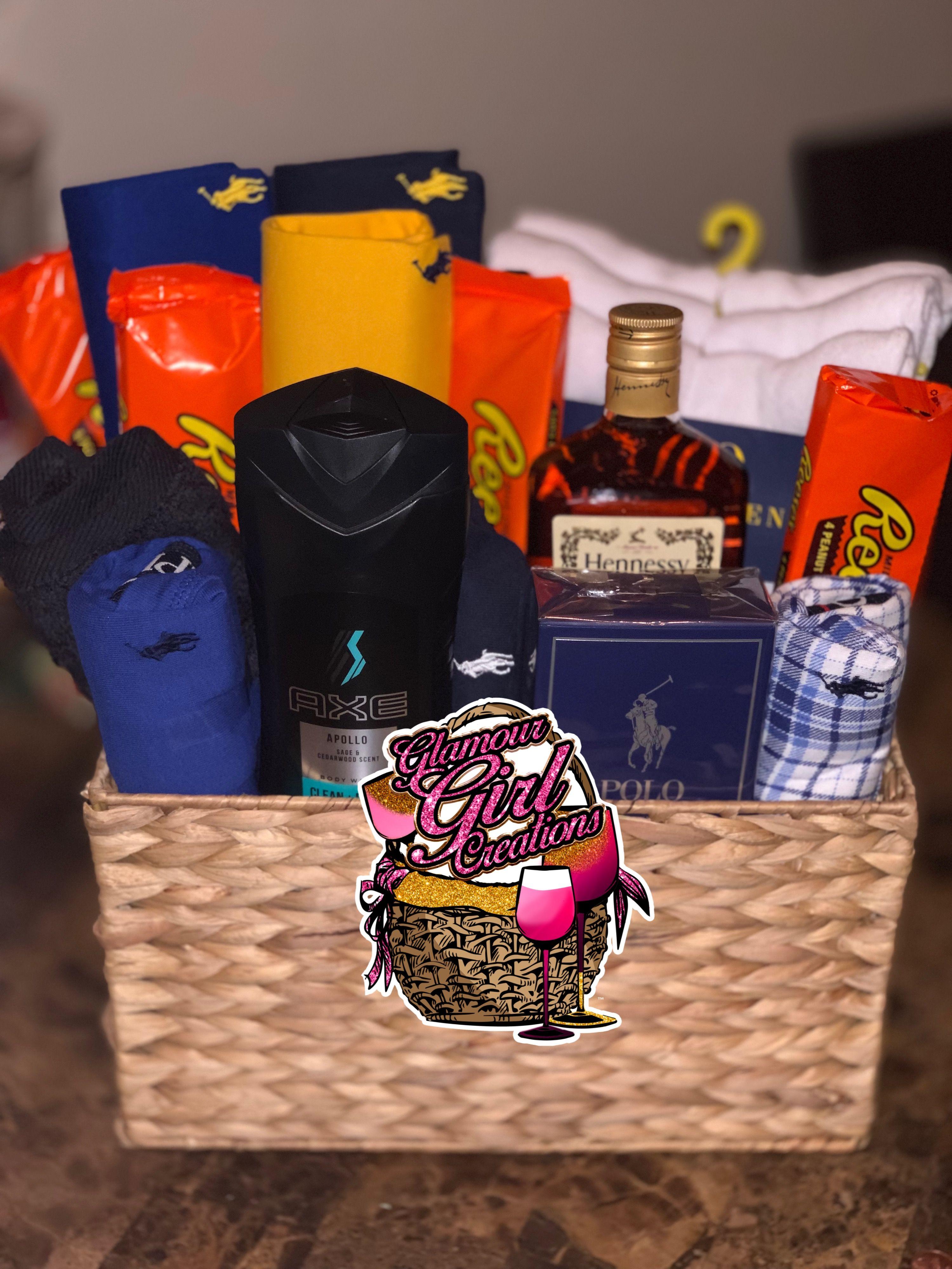 Small Polo Basket | Christmas gift for your boyfriend, Boyfriend gift basket, Family christmas gifts