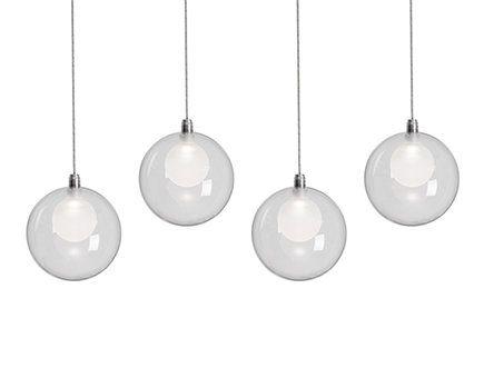 Haner Frosted Inner Glass 4 Light Globe Pendant. Lighting IncLighting StoreGlobe  PendantLighting SolutionsLight LedPendantsGlassesOrange CountyShowroom