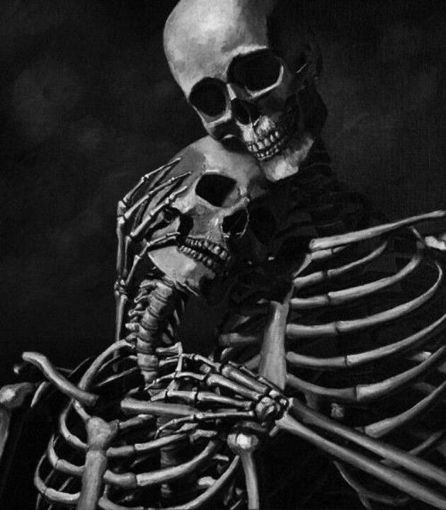 Eternal Love Skulls Skeleton Love Skeleton Art Art