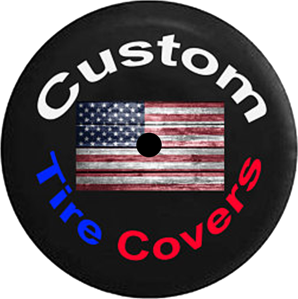 Custom Jeep Wrangler JL Tire Cover (20182019) With Backup
